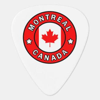 Montreal Canada Guitar Pick