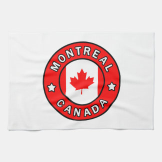 Montreal Canada Kitchen Towel