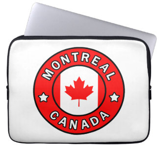 Montreal Canada Laptop Sleeve