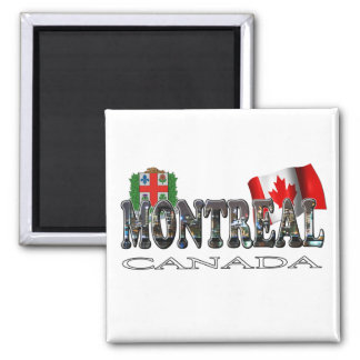 Montreal Canada Magnet