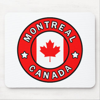Montreal Canada Mouse Pad