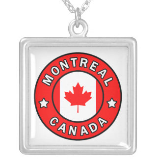 Montreal Canada Silver Plated Necklace