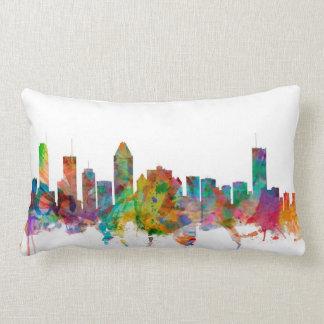 Montreal Canada Skyline Lumbar Pillow