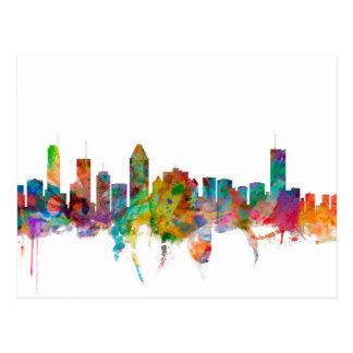 Montreal Canada Skyline Postcard