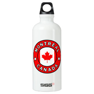 Montreal Canada Water Bottle