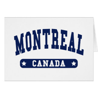 Montreal Card