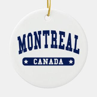 Montreal Ceramic Ornament