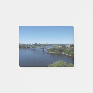 Montreal City River Bridge Post-It Notes