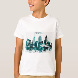 Montreal City Skyline T-Shirt