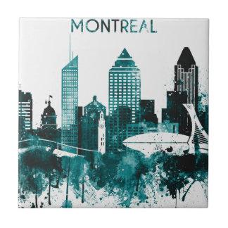 Montreal City Skyline Tile