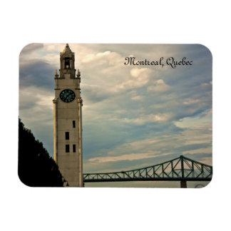 Montreal Clock Tower Rectangular Photo Magnet
