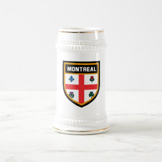 Montreal Flag Beer Stein