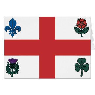 MONTREAL Flag Card