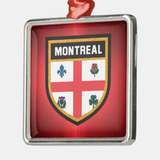 Montreal Flag Metal Ornament