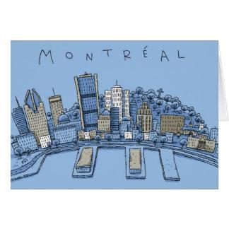 Montreal Greeting Card