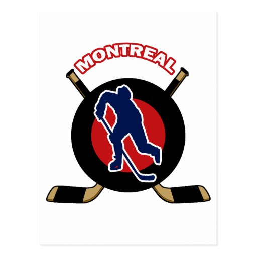 MONTREAL HOCKEY POST CARD