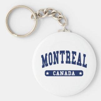 Montreal Keychain