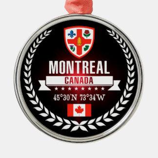 Montreal Metal Ornament