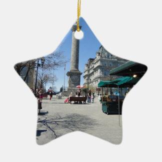 Montreal Old Port Ceramic Star Ornament