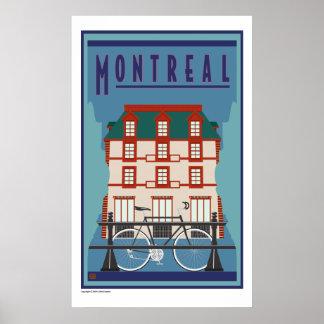 Montreal-Print Poster