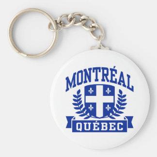 Montreal Quebec Keychain