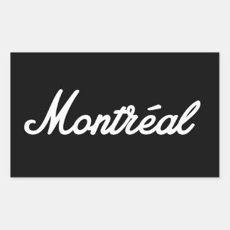 Montreal rock sticker! sticker