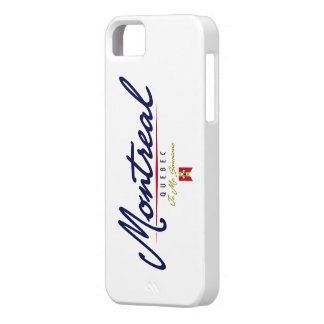 Montreal Script iPhone 5 Cases
