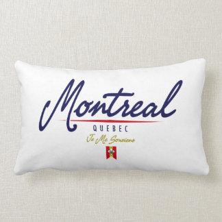 Montreal Script Lumbar Pillow
