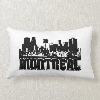 Montreal Skyline Lumbar Pillow