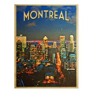 Montreal Skyline Postcard