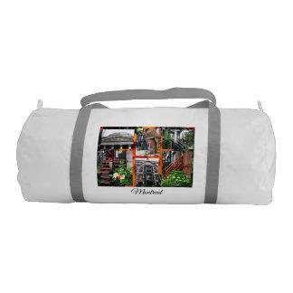 Montreal Travel Collection Gym Bag