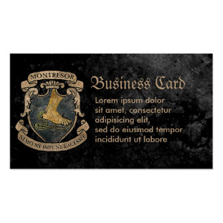 Montresor Coat of Arms Business Card