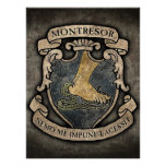 Montresor Coat of Arms Poster