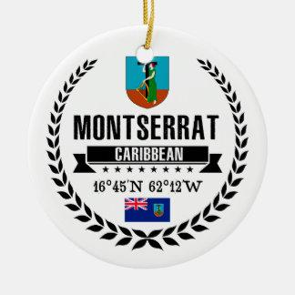 Montserrat Ceramic Ornament