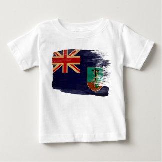 Montserrat Flag Baby T-Shirt