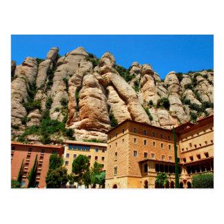 Montserrat Monastery, Catalonia, Spain Postcard