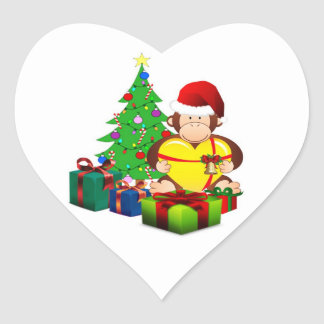 Monty Christmas Stickers