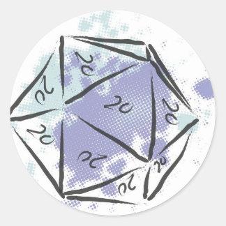 Monty Haul Items Round Sticker