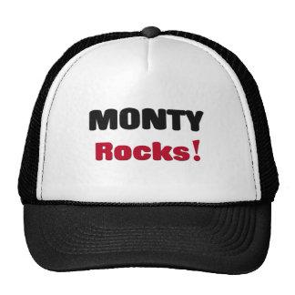 Monty Rocks Mesh Hats