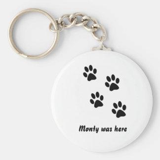 Monty was.. key chain