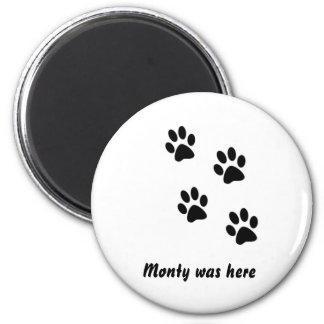 Monty was... Magnet
