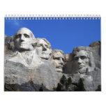 Monument commémoratif national du mont Rushmore Calendriers Muraux