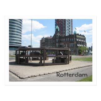 Monument for Dutch emigrants Postcard