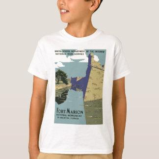 Monument national St Augustine la Floride de T-shirt