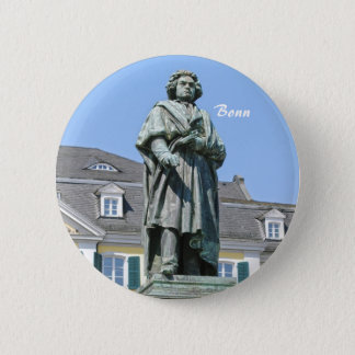 Monument of Ludwig van Beethoven in Bonn 2 Inch Round Button