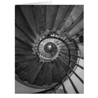 Monument Spiral Staircase Card
