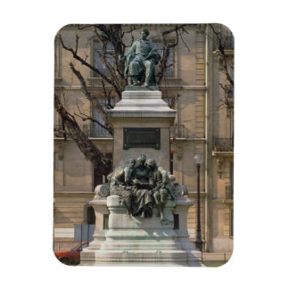 Monument to Alexander Dumas pere (1802-70) French Rectangular Photo Magnet