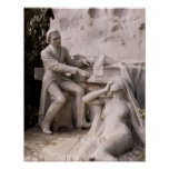 Monument to Frederic Chopin Poster