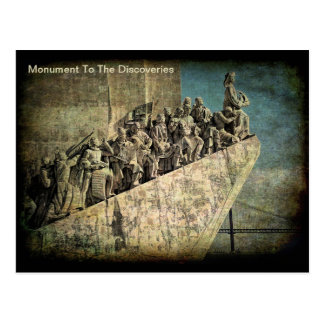 Monument To The Discoveries Postcard