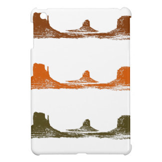 Monument Valley, 3 mountains, 3 colors iPad Mini Case